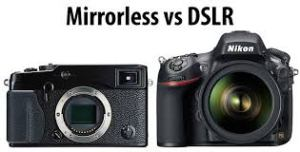 pilih mirrorless atau DSLR?