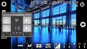 user interface camera fv-5